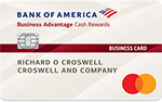 Bank of America Cash Rewards Business Card