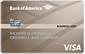 Bank of America Business Visa Card