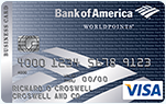 Bank of America Visa Business Card